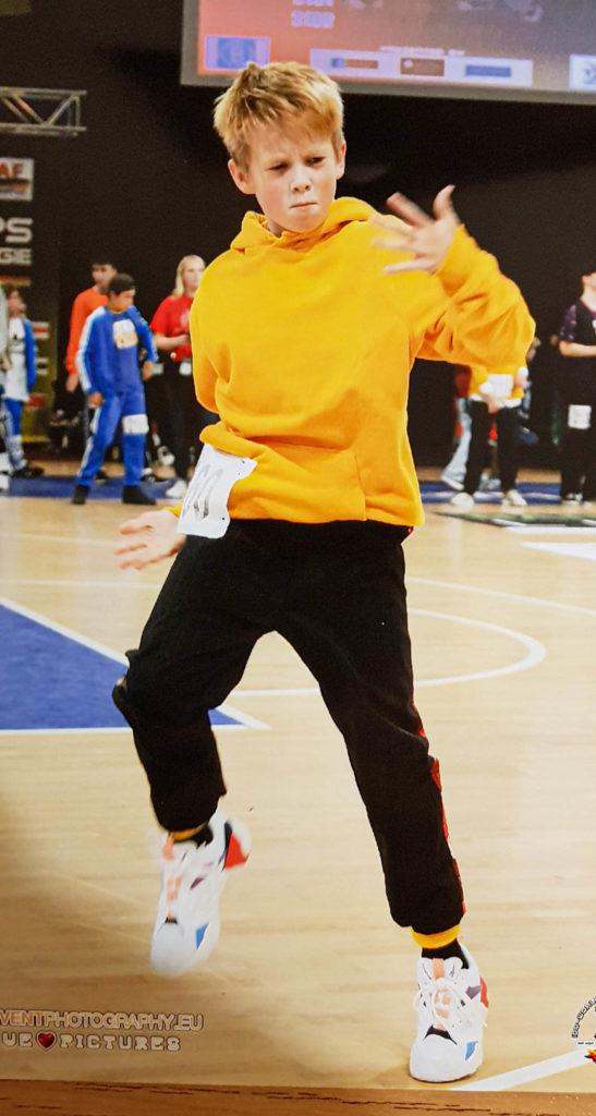 Tim beim Tanzen